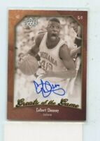 CALBERT CHEANEY 2010 Upper Deck Greats Of The Game  Auto Autograph #83