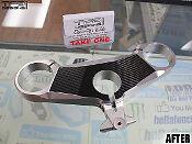 Carbon Fiber Triple Clamp Decal Ducati 1098 1198 848 1098S 1198S - 3M Vinyl