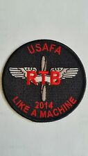 US Air Force Academy Class of 2014 patch, RTB class, USAFA cadet, Like a Machine