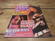 RIO - ROBERT PLANT - TOKYO BLADE - FREE - Enfer magazine N°22 de 1985