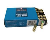 Cartucce Fiocchi a salve calibro 9 mm PAK