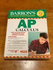 Barron's AP Calculus Test Prep (2017, Paperback)
