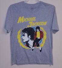 Gap brand michael jackson thriller tee men's size large t-shirt grey new rare