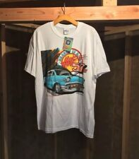 VINTAGE NWT 57 1957 Chevy Bel Air Chevrolet Hot Rod T-shirt Mens Size Large
