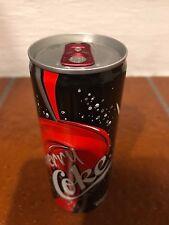 """Lattina Coca-Cola 250 ml""""Cherry"""" Mod """"Slim"""" 2008 da Belgio&Lussemburgo(Leggi)"""
