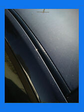 MERCEDES CARBON FIBER ROOF TRIM MOLDING 2PC W/5YR WARRANTY #2*