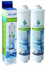 2x AquaHouse Fridge Water Filters fits Samsung LG DAEWOO American Fridges