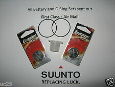 Dual Energizer batteries & O-ring Kit for Suunto D4 and D4i computers + grease