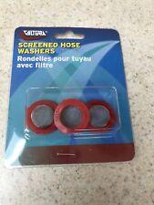 RV - Motorhome - Fresh Water Garden Hose Screen Washers - Set of Three