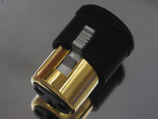 2 Male + 2 Female XLR Noise Stopper Cap Self Lock Caps EN001B USA Design