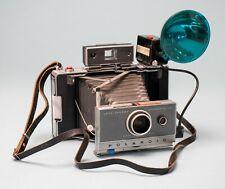 Polaroid Automatic 100 Land Camera w Case Flash