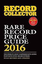 Rare Record Price Guide 2016 (Record Collector), Andy McDuff, Good, Paperback