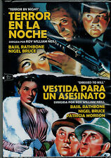 Terror en la noche - Vestida para un asesinato (2 DVD Nuevo)