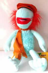 Fraggle Rock Muppets Boober 10'' Plush Stuffed Toy .Licensed. NWT. USA