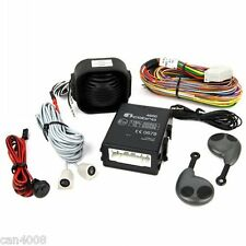 Alarma coche COBRA, 4693, dos mandos, nueva, con esquema de montaje del coche.