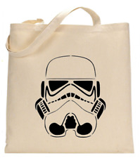 Shopper Tote Bag Cotton Canvas Cool Star Wars Wolf Music Ideal Gift Present