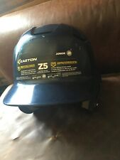 Easton Jr Z5 Baseball Youth Batting Helmet 2tone Navy Blue/White 6-3/8 to 7-1/8""