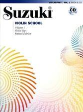 SUZUKI VIOLIN SCHOOL Vol 1 Violin pt +CD REVISED*