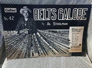 Vintage 1962 Craftool Belts Galore Book by Al Stohlman Belt Making Instruction