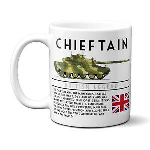 Personalised CHIEFTAIN Tank Mug Cup WW British Military Gift BPM14