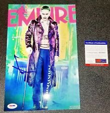 JARED LETO Autographed Signed SUICIDE SQUAD The Joker 8x12 Photo PSA JSA Poster