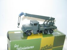 SOLIDO, camion KAISER JEEP grue de manutention, militaire US