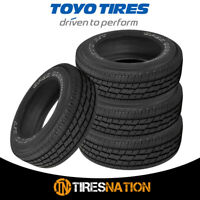 (4) New Toyo Open Country H/T II 265/60R18 110T Tires