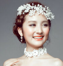 Wedding Bridal Headband Headpiece Tiara Party Pearl Bride Hair Accessories UK