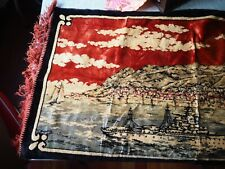 Antique tapestry - ships