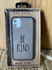 """New Rae Dunn Iphone 11/XR Phone Case """"BE KIND"""" Soft Touch"""