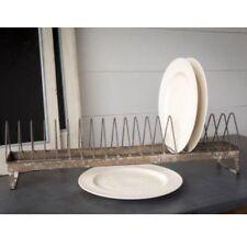 "Vintage Style Large 30"" Chicken Feeder Plate Rack-Urban Farmhouse"