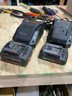 Genuine Bosch 18 V batteries and chargers. photo