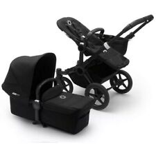 Bugaboo Donkey 3 Mono Convertible Stroller Black *New Open Box* FREE SHIPPING