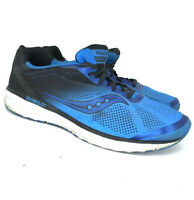 Saucony Mens Breakthru 4 S21419-2 Blue Black Running Shoes Lace Up Size 11.5