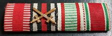 ✚7606✚ German Austria Hungary ribbon bar WW1 Karl Troop War Commemorative Medal