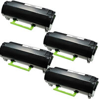 4PK Cartridge  51B1000 for Lexmark MS317 417 517 617 MX 317 417 517 617 2.5K