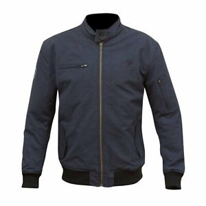 Classic Motorcycle Jacket > Merlin Wesley Harrington CE Approved - Navy