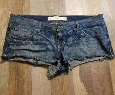 Abercrombie & Fitch Womens Shorts Size 10/W30 Flowers Distressed Frayed