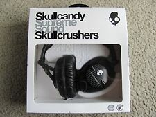Brand New Skullcandy S6SKFZ-003 DJ-Style Stereo Headphones w/ Subwoofer (Black)