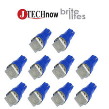 10 x T5, 5050 SMD LED Blue Instrument Panel Dash Light Bulb 74 17 18 37 70 2721