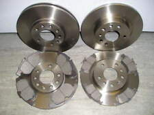 VECTRA C 1.8 1.9 2.0 FRONT & REAR BRAKE DISCS & PADS 2004-2009 NEW COATED DESIGN