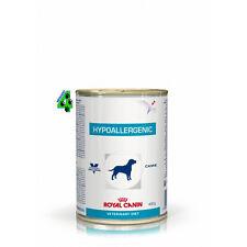 ROYAL CANIN 24 barattoli HYPOALLERGENIC 400 gr alimento umido per cani