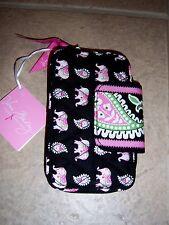 New  Vera Bradley Pink Elephant Smartphone Wristlet Nwt