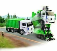 ODYSSEY Toys Dumpin' Moto Remote-Controlled Transforming Robot Garbage Truck
