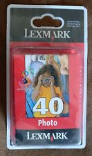 CARTOUCHE ORIGINALE Lexmark 40 Photo