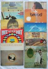 11 LP Vinyl Lot 1970-83 Beach Boys Bread BJ Thomas Asia Cat Stevens Joni Mitchel
