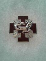 Authentic US Army Walter Reed Institute of Nursing DUI DI Crest Insignia 22M
