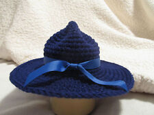 Crochet State Trooper/Patrolman/Ranger Hat - Baby Photo Prop - Made to Order