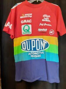 Vintage Dupont Racing Multi Color Short Sleeve Lg Shirt Gordon Hendrick GMAC 24