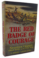 Stephen Crane THE RED BADGE OF COURAGE Modern Library Modern Library Edition